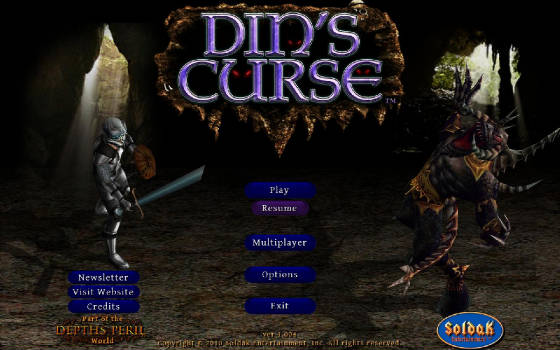 Din's Curse v1.008 Beta Patch