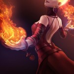 Lina - DotA 2