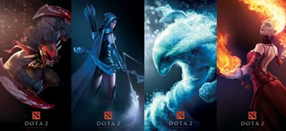 DotA 2 Posters Valve Store