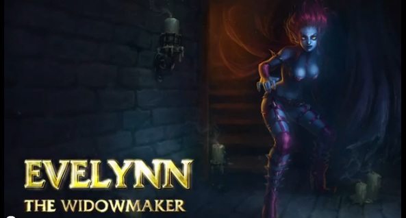 Evelynn - The Widowmaker remake