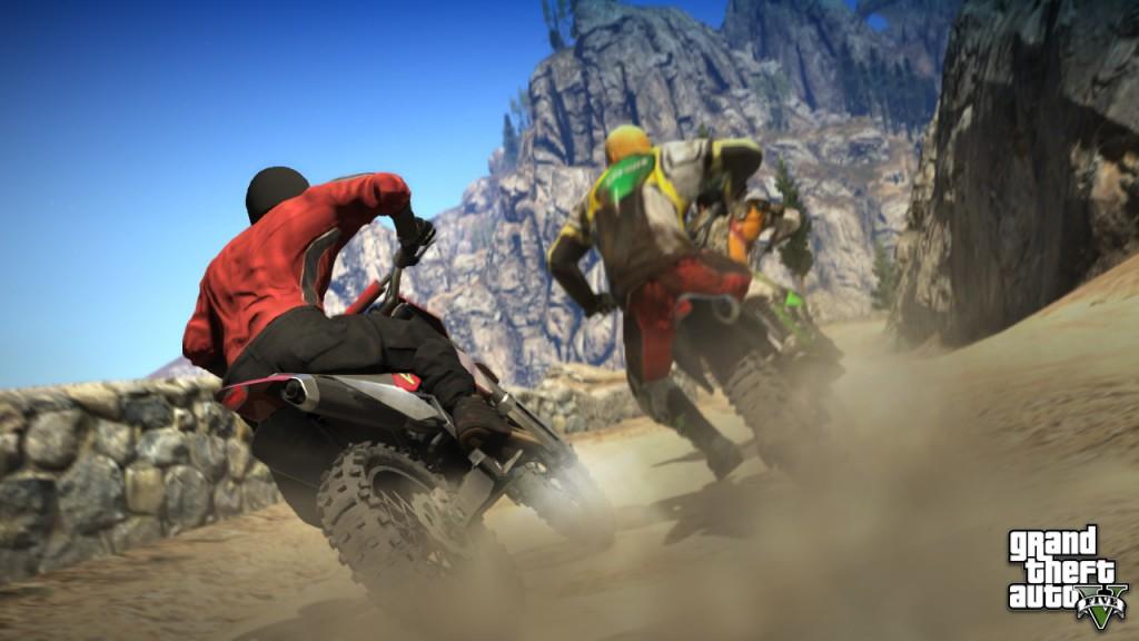 GTA 5 Dirt Bikes