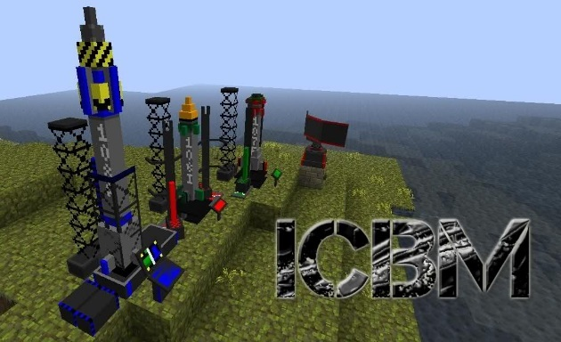 Icbm mod for minecraft 1 7 9 1 8 1 1 8 2