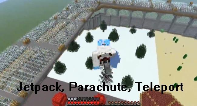 Jetpack Parachute Teleporter Mod 1.3.2