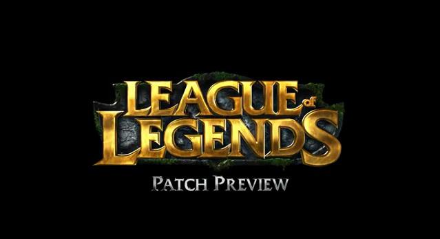 PBE Patchnote - League of Legends