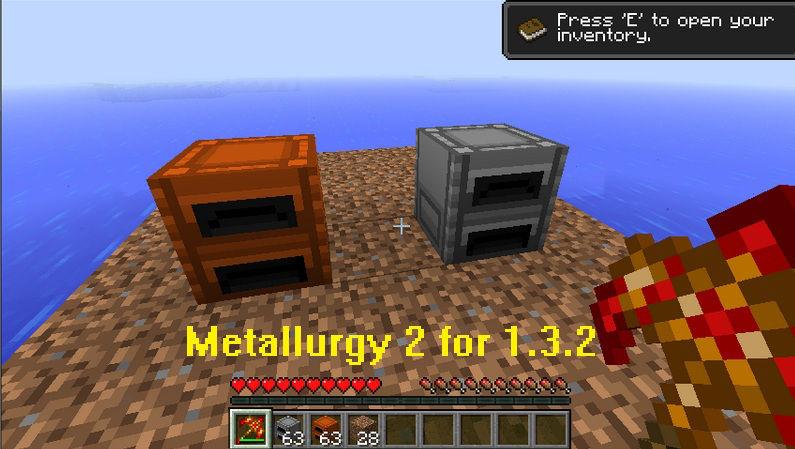 Metallurgy 1.3.2 mod
