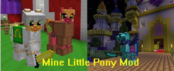 Mine Little Pony Mod