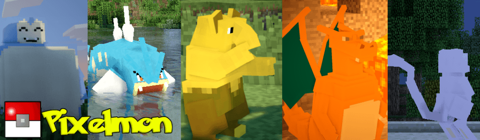 Pixelmon Mod for Minecraft 1.5.1/1.5.2