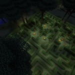 Twilight forest maze minecraft