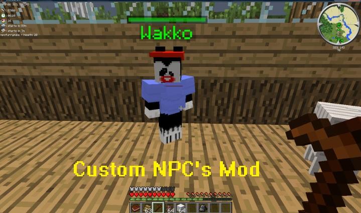 Custom NPC's Mod