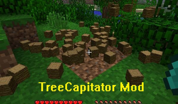 TreeCapitator Minecraft 1.4.2