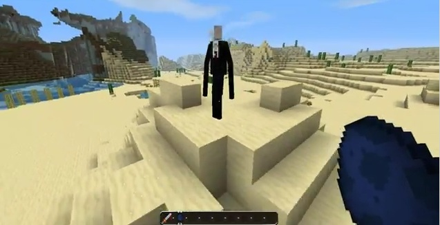 slenderman minecraft
