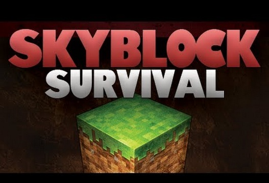 minecraft  Skyblock survival map