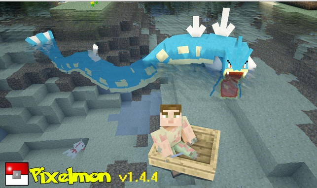 Pixelmon Mod 1.4.4
