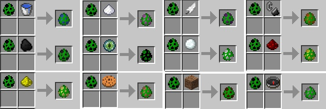 Spawner Egg Recipes