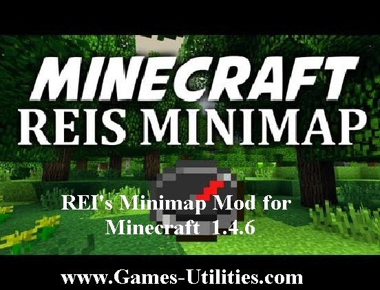 rei's minimap mod minecraft 1.4.6