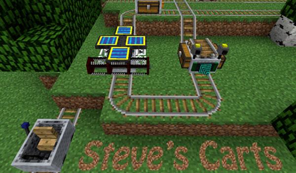 Steve Carts 2 Mod