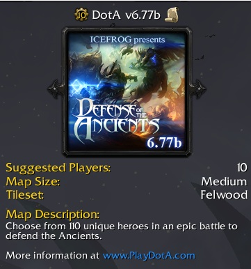DotA 6.77b Map Download