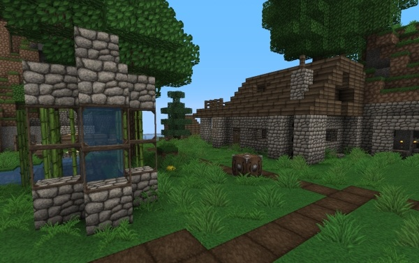 Games-Utilities Ovo's Rustic Texture Pack