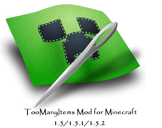 TooManyItems Mod for Minecraft