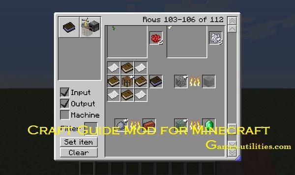 minecraft craftguide mod