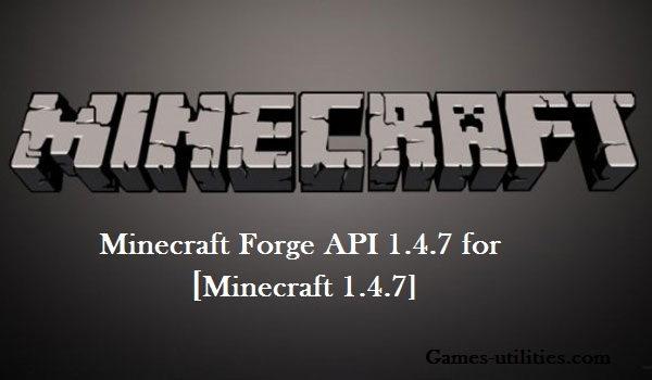 Forge API 1.4.7 for Minecraft