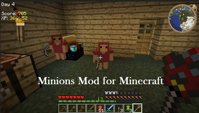 Minions for minecraft 1 7 9 1 8 1 1 8 2