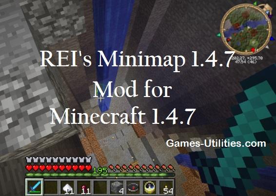 Minimap для minecraft 1.4.7