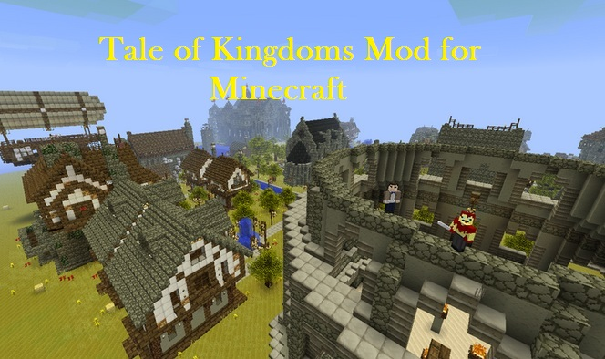 Minecraft Tale of Kingdoms Mod