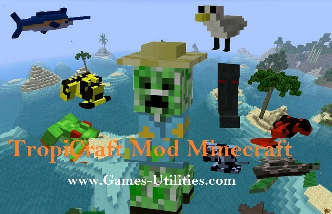 Tropicraft Mod for Minecraft