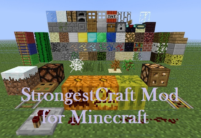 StrongestCraft Texture Pack for Minecraft