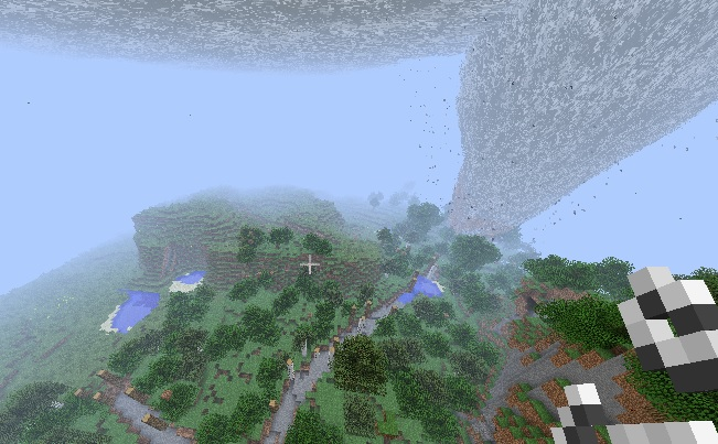 how to change weather in minecraft ps4