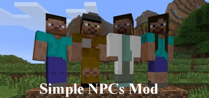 simple npc mod for minecraft