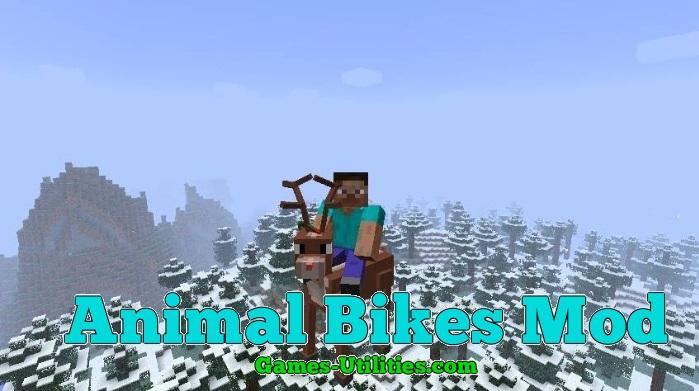 Animal Bikes Mod for Minecraft 1.9.1/1.9.2/1.8.9
