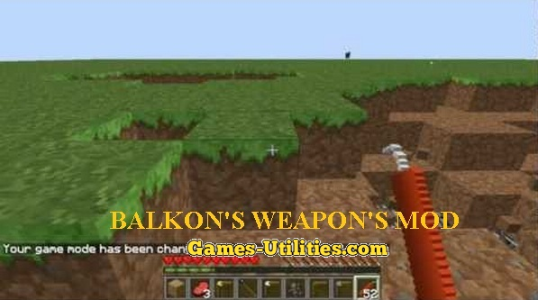 Balkon's Weapon for Minecraft