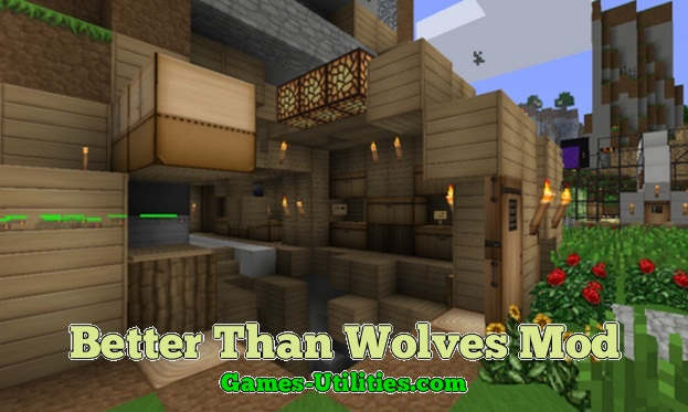 Better Than Wolves for Minecraft 1.9.1/1.9.2/1.8.9