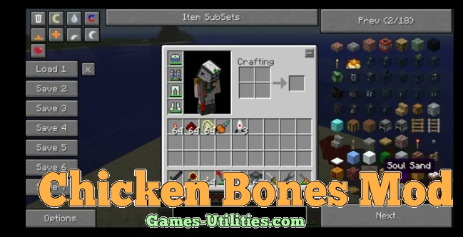 Chicken Bones for Minecraft 1.9.1/1.9.2/1.8.9