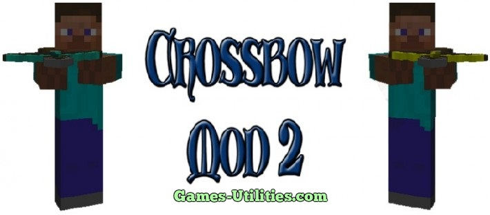 Cross Bow 2 for Minecraft 1.9.1/1.9.2/1.8.9