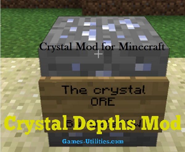 Crystal Depths for Minecraft 1.9.1/1.9.2/1.8.9