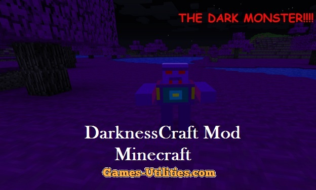 DarknessCraft for Minecraft 1.9.1/1.9.2/1.8.9
