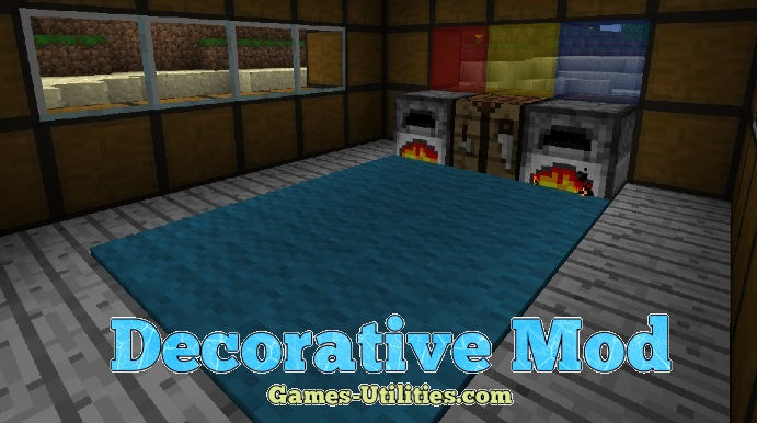 Decorative Mod for Minecraft