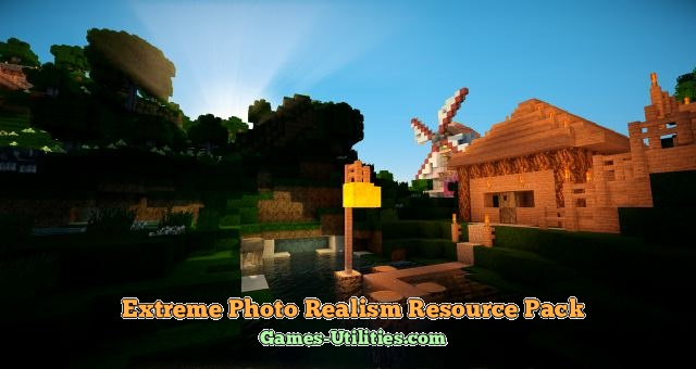 Extreme Photo Realism Resource Pack for Minecraft 1.9.1/1.9.2/1.8.9