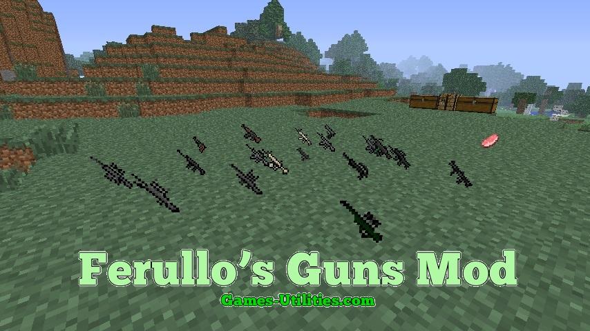 Ferullo's Guns Mod 1.9.1/1.9.2/1.8.9 - Minecraft