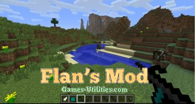 Flan's Mod for Minecraft 1.9.1/1.9.2/1.8.9