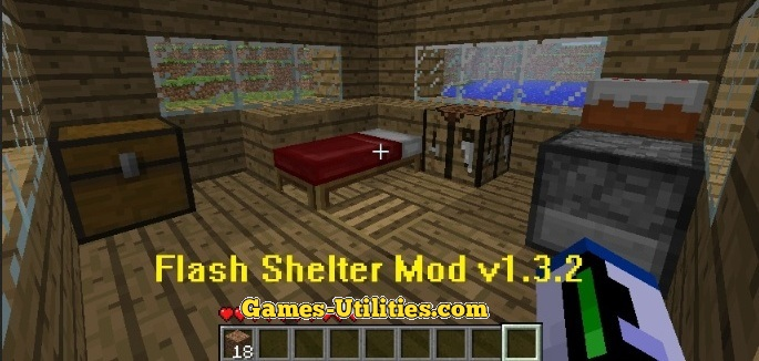 FlashShelter for Minecraft 1.9.1/1.9.2/1.8.9