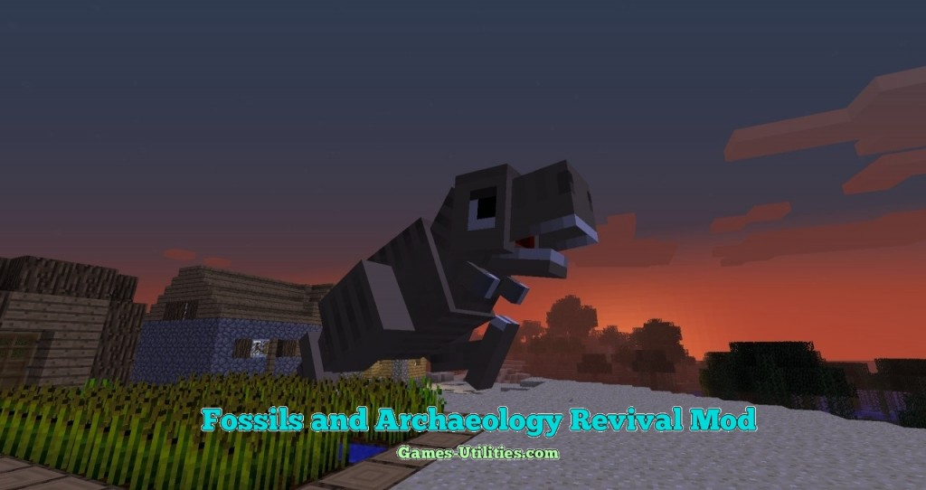 Fossils and Archaeology Revival for Minecraft 1.9.1/1.9.2/1.8.9