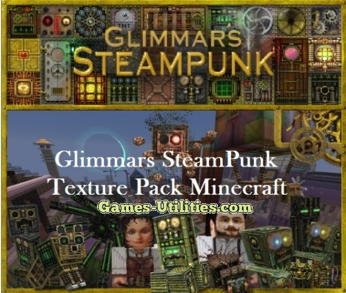 Steampunk Resource Pack for Minecraft 1.9.1/1.9.2/1.8.9