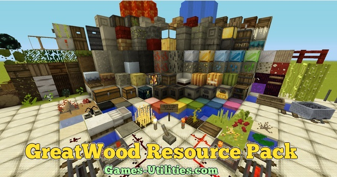 GreatWood Resource Pack for Minecraft 1.9.1/1.9.2/1.8.9