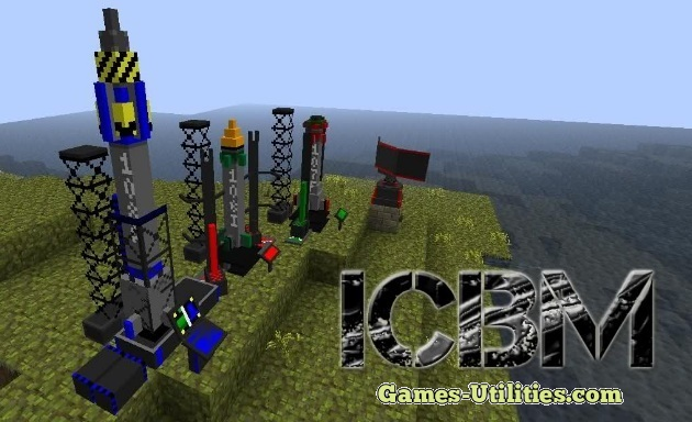 ICBM Mod for Minecraft 1.9.1/1.9.2/1.8.9