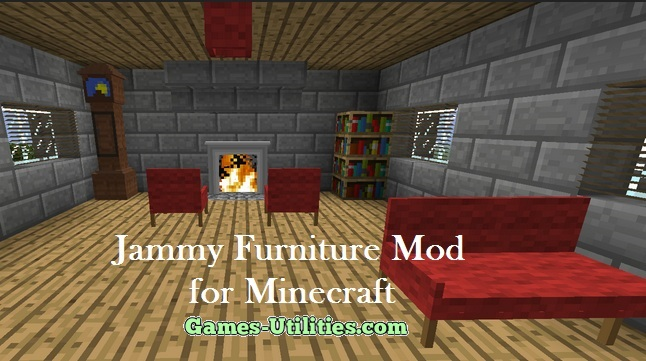 Jammy Furniture for Minecraft 1.9.1/1.9.2/1.8.9