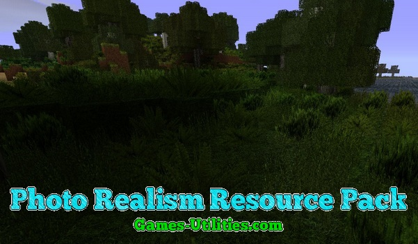 Photo Realism Resource Pack for Minecraft 1.9.1/1.9.2/1.8.9